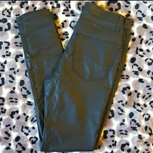 Pants - Faux Leather High Waisted Skinnies NWOT